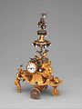 Automaton in the form of a chariot pushed by a Chinese attendant and set with a clock MET DP346439.jpg