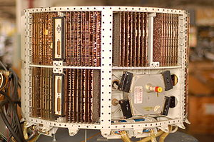 LGM-30 Minuteman - Autonetics D-17 guidance computer from a Minuteman-I missile.