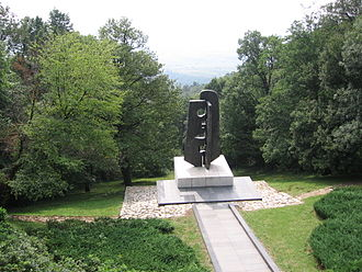 Avala - Monument to the Soviet war veterans