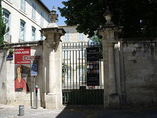 Museum in Avignon, France
