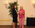 Award for Conservation Partners Jane Schnee (10592785985).jpg