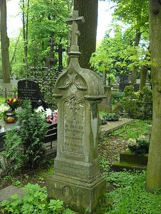 Orthodox Cemetery, Warsaw - Image: Awramow cmentarz prawosławny na woli grób