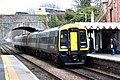 Axminster - SWR 158890+159011 arriving from London.JPG