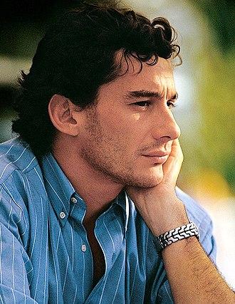Ayrton Senna - Image: Ayrton Senna 8 (cropped)