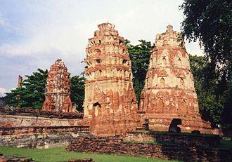 Wat Mahathat (Ayutthaya) - Wat Phra Mahathat, Ayutthaya