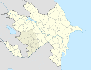 Nağaraxana is located in Azerbaijan