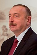 Azerbaijani President Aliyev Participate in a Meeting With Secretary Kerry and Other Global Leaders on the Nagorno-Karabakh Conflict in Vienna (26452164084).jpg