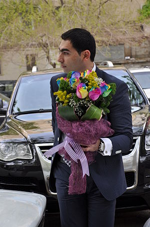Bridegroom - Modern Azerbaijani groom