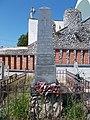 Bánóczy family grave obelisk, 2020 Pápa.jpg