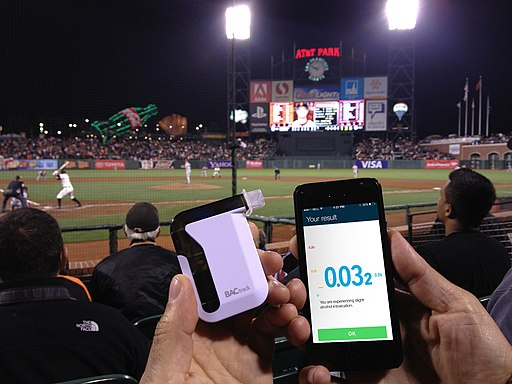 BACtrack Mobile in At&T Park