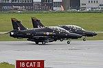 BAE Systems Hawk T.2 'ZK034 Y' & 'ZK035 Z' (44975196101).jpg
