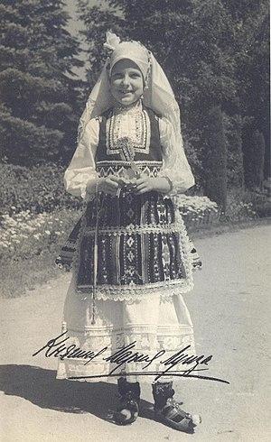 Princess Marie Louise of Bulgaria - Princess Marie Louise in Bulgarian costume