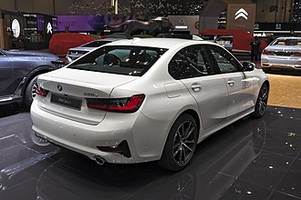 BMW 3 Series (G20) - Rear view 330e