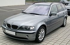 BMW E46 touring - facelift