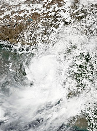 2017 North Indian Ocean cyclone season - Image: BOB 03 2017 06 12 0650Z