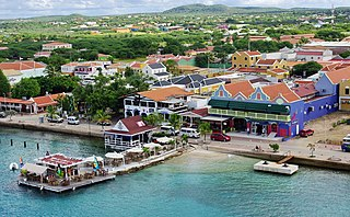 Town in Bonaire, Netherlands