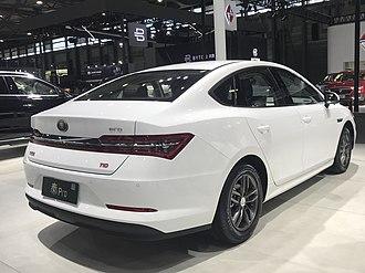 BYD Qin - BYD Qin Pro rear