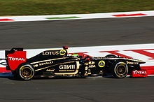 Photo de la Renault R31 de Bruno Senna