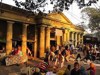 Babughat - The Babu Ghat pavilion on Strand road, Kolkata