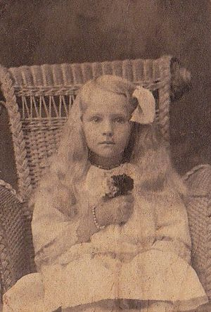 Ruth Cleveland - Ruth Cleveland around the age of 6.