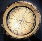 Bacino ceramico da facciata del duomo di s. miniato, nord-africa, 1190 ca. 10,1.JPG