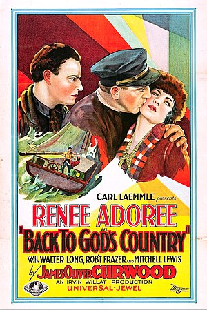 Back to God's Country (1927 film) - Film poster
