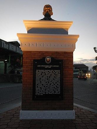 Kapampangan people - Juan Crisostomo Soto (Bacolor, Pampanga, Monument and memorial).