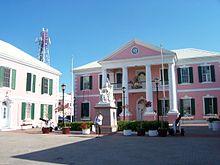 La sede del Parlamento delle Bahamas a Nassau