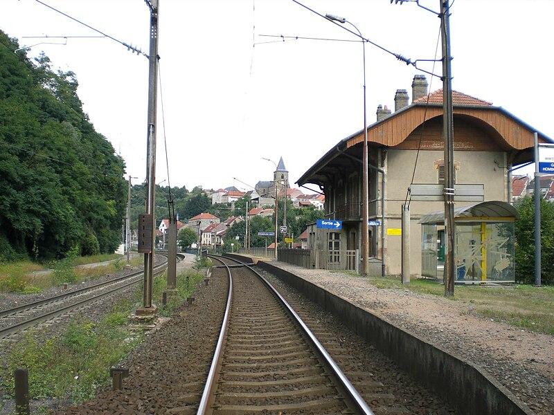 Railway station Hombourg-Haut, Lorraine