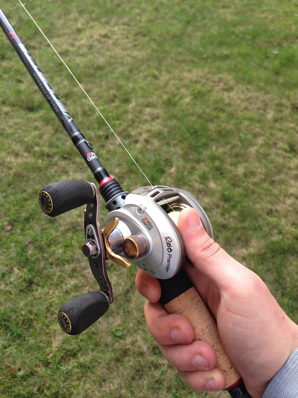 Fishing reel simple english wikipedia the free encyclopedia for Fishing rods and reels