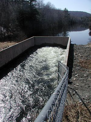 Watershed Protection and Flood Prevention Act of 1954 - Baker River Watershed Floodwater Retarding Structure No.6 Spillway