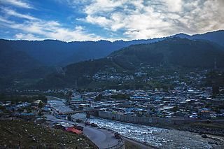 Balakot City in the evening.jpg