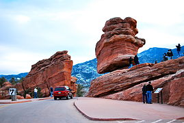 Balanced Rock and Steamboat Rock March 2010.JPG