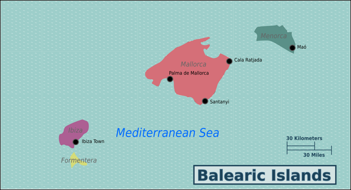 Balearic Islands Travel guide at Wikivoyage