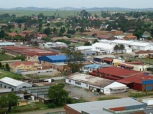 Balfour, Mpumalanga - Skyline photo of central Balfour