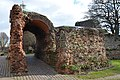 Balkerne Gate, a 1st-century Roman gateway in Camulodunum, it is the largest surviving gateway in Roman Britain, Colchester, Great Britain (22987107540).jpg