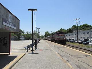 Ballardvale station Railway station in Andover, Massachusetts