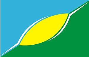 San Cayetano, Buenos Aires - Image: Bandera ciudad de san cayetano argentina