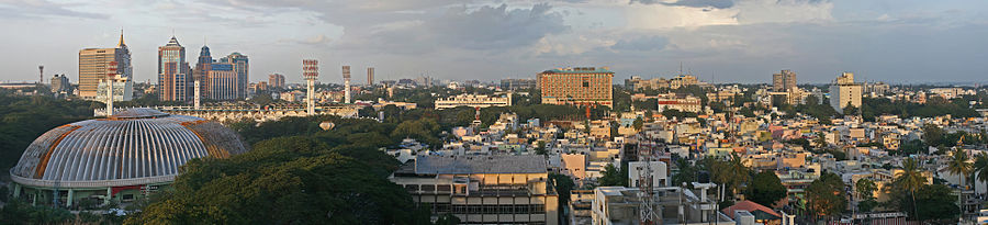 The Bangalore Skyline