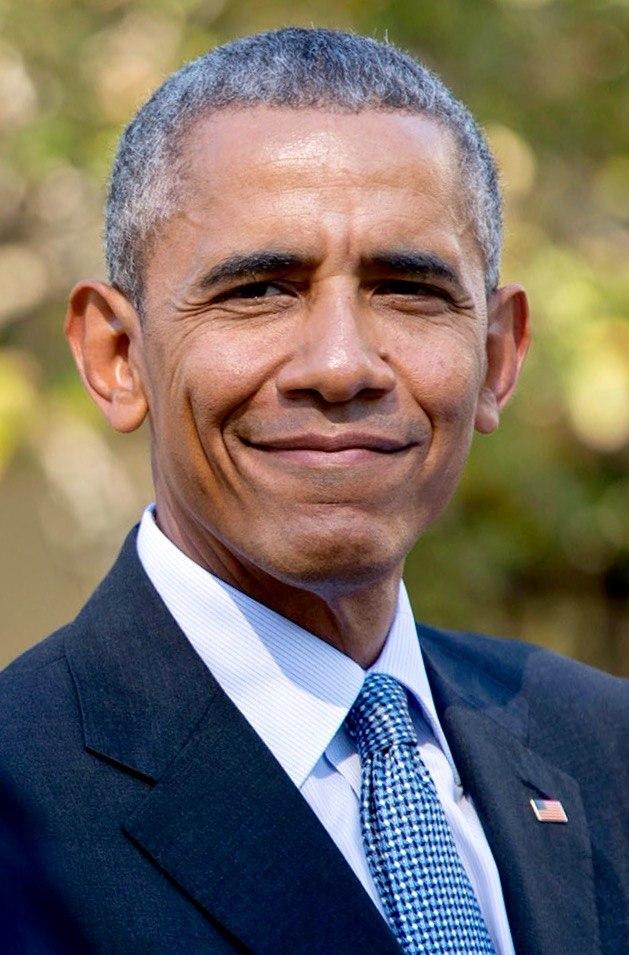 Barack Obama in October 2016