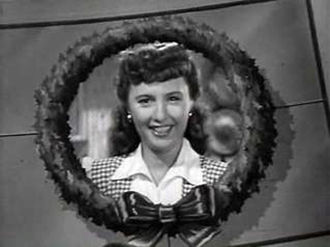 Christmas in Connecticut - Barbara Stanwyck as Elizabeth Lane in Christmas in Connecticut