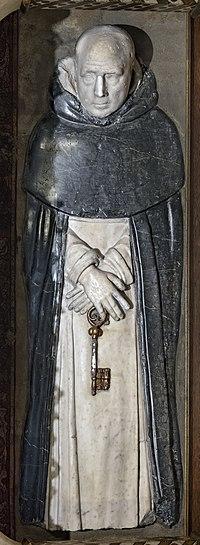 Barcelona Cathedral Interior - Capella de Sant Ramon de Penyafort, Tomb of Raimundo de Peñafort.jpg