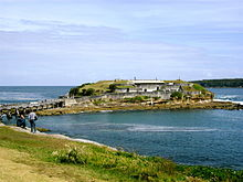 Another Perspective Of Bare Island Fort