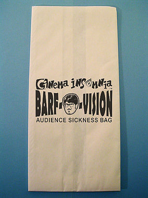 Cinema Insomnia - Barf-O-Vision bag