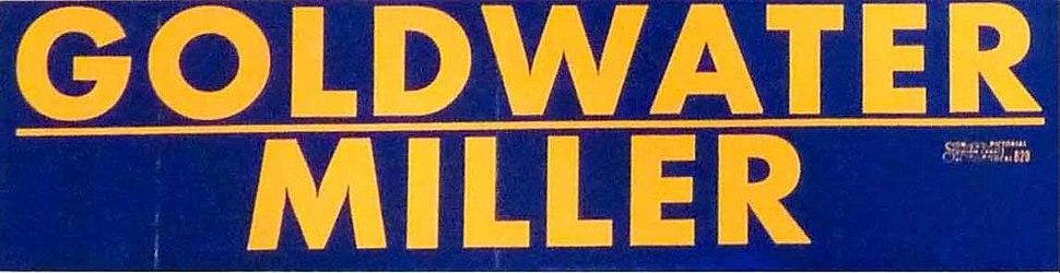 Barry Goldwater bumper sticker 08