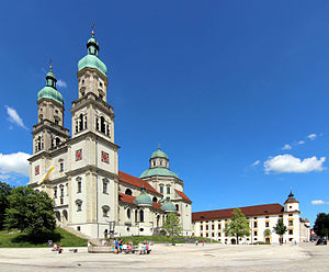 Kempten - Church St. Lorenz Basilica