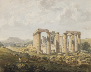 John Foster (architect) - Bassae Temple of Apollo by John Foster 1820