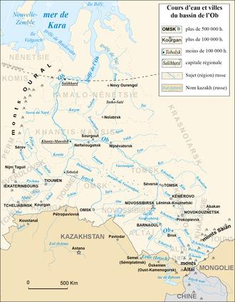 Severnaya Sosva River - The Northern Sosva in the Ob Basin - double click to expand