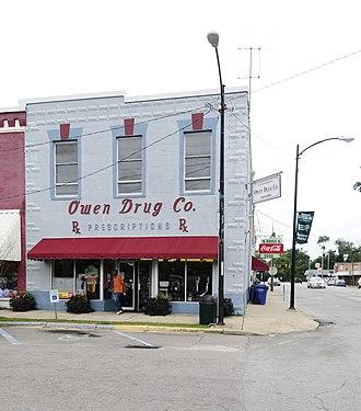 Batesburg Commercial Historic District - Batesburg Commercial Historic District, August 2012