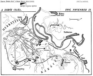 Battle of Zsibó Battle in Rákóczi War of Independence